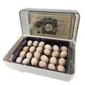 ABS Материал инкубатор для яиц многофункциональная машина для инкубации яиц с светодиодный дисплеем температуры для фермы инкубатор машина ...