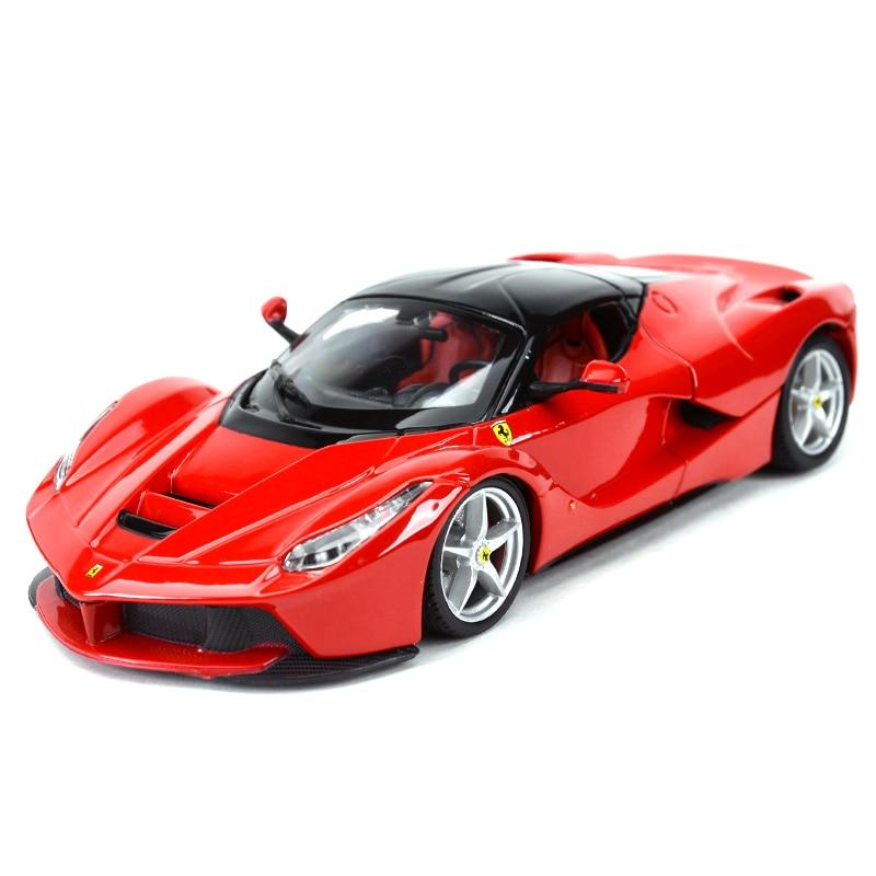 Bburago 1:24 LaFerrari Sports Car Static Simulation Diecast Alloy Model Car