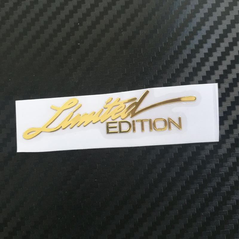 Ограниченная серия, никелевые металлические наклейки для мотоциклов, для BMW, Audi, Honda, Opel, Lada, Toyota, Chevrolet, Hyundai, Suzuki, Yamaha