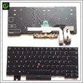 Французский Azerty клавиатура с подсветкой для Lenovo Thinkpad E480 E485 L480 L380 T490 T14 E490 E495 L490 T495 Йога T480S L390 P43S FR