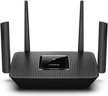Linksys MR9000 Mesh WiFi 5 Router Max-Stream AC3000 (Tri-Band, Wireless Router for Home) Future-Proof MU-Mimo Wireless Router netgear r9000 ad7200 wi fi router tri band 802 11ac ad quad stream mu mimo