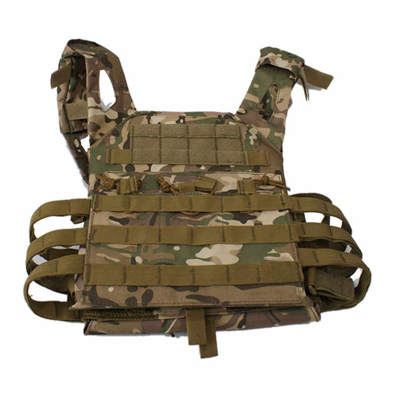 Ordu yeşil taktik savaş yelek JPC açık avcılık Wargame Paintball koruyucu plaka taşıyıcı yelek Airsoft yelek