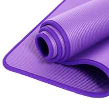 10mm NBR Yoga Mat Home Gym Fitness Yoga Pilates Lose Weight Exercise Mat Tear-resistant Non-Slip Sports Mat Pads 1830*610mm