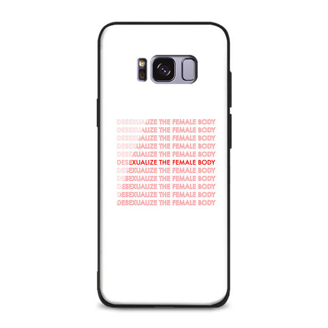 online shop minimal art aesthetics quotes soft silicone glass