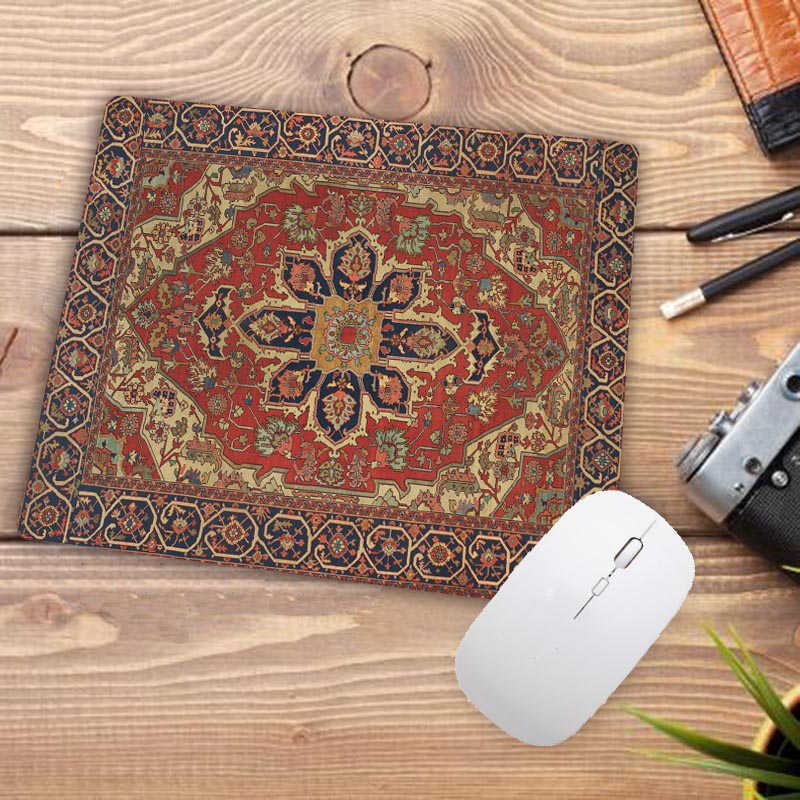 Image 3 - Big Promotion Waterproof Persian carpet rubber non slip laptop gaming Small mouse pad for CSGO dota LOL 220*180*2mm-in Mouse Pads from Computer & Office