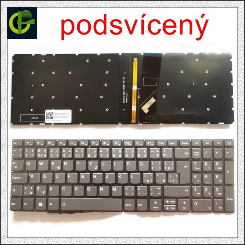 Чешский клавиатура с подсветкой для Lenovo IdeaPad 5000-15 520-15 520-15IKB 320S-15ISK 320S-15IKB L340-15 L340-15API CZ Словакии SK