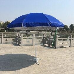 Fabrikanten Directe Verkoop 2.4 M Outdoor Grote Reclame Paraplu UV-Bescherming Parasol Aanpasbare Outdoor Zonnescherm Gehelen