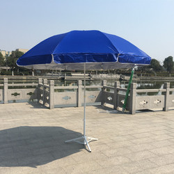 Manufacturers Direct Selling 2.4 M Outdoor Large Advertising Umbrella UV-Protection Parasol Customizable Outdoor Sunshade Wholes