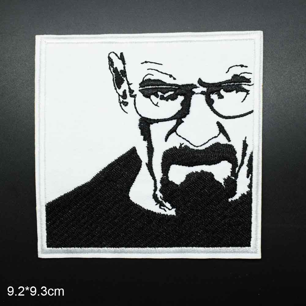 Breaking Bad HEISENBERG Embroidered Iron-on Patch