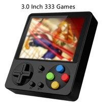 JP02 Mini oyun konsolu taşınabilir Retro el oyun makinesi klasik düğme oyun 333 oyunları ile destekler AV TV bağlantısı