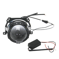 Bedehon Bi Led Projector Lens 2 PCS 2.5 Inch LHD RHD Hi Lo Beam Car Motorcycle Glass Lens Xenon Headlight For Ford Focus 2