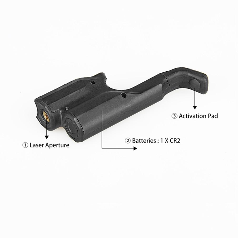 Pistol Gun Laser Sight Hanging Green Red Dot & Laser For Glock 1911 M92 Shooting Hunting-4