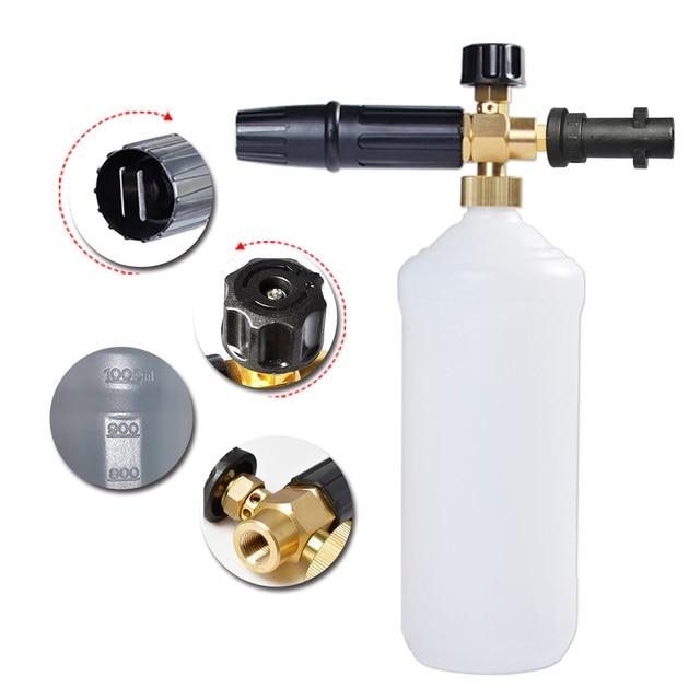 Foam Nozzle Snow Foam Lance Foam Bottle Sprayer for Karcher Bosch Interskol Elitech Nilfisk Huter Stihl Pressure Washer Car Wash 1