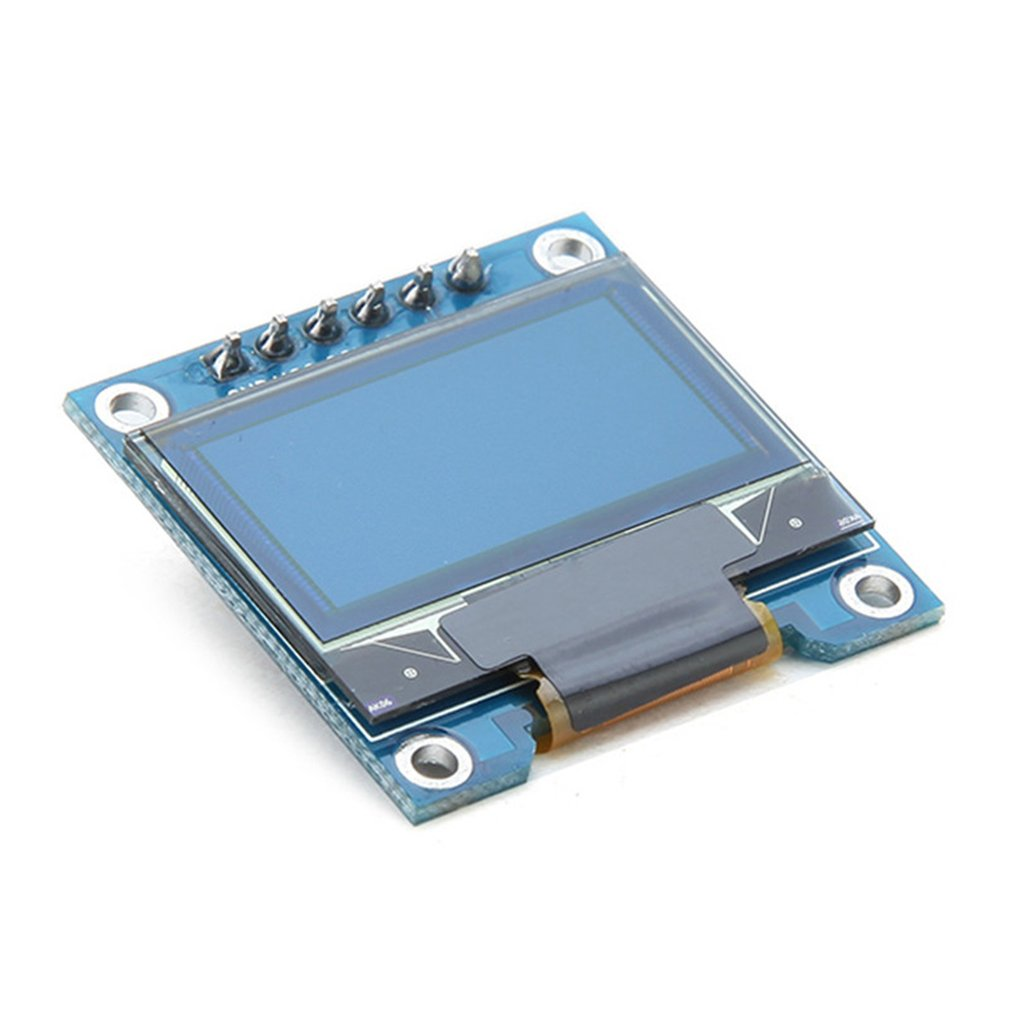0.96 Inch 6Pin 128 x 64 SPI OLED Display Module For Arduino Compatible SCM & DIY Kits Module Board SPI OLED Display
