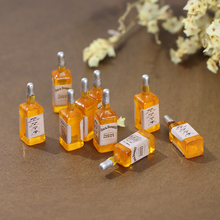 Glasses Doll-House Food-Toy Drink-Bottle Kitchen Mini Wine 10pcs Match for Collectible
