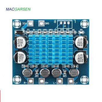 Car Sound Audio Power Digital Amplifier Board Class D 12V 24V Auto Hifi Stereo Amplifiers Module Home 4 8 ohm Speaker 30W*2 Am