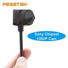 מיני 1080P AHD מצלמה CCTV מצלמה CVI מצלמה TVI מצלמה עם 3.7mm או 2.8mm עדשת מיקרופון פלט עבור אבטחת מעקב מערכת