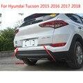 Автомобильная Задняя Крышка багажника из нержавеющей стали Накладка/задняя защитная накладка для багажника Hyundai Tucson 2015 2016 2017 2018