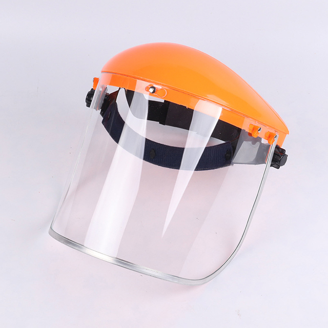 Safety Anti-Splash Face Shield Grinding Solder Weldor Head Protector Cap Cover Head Face Anti-Saliva Dustproof Mask Protection 4
