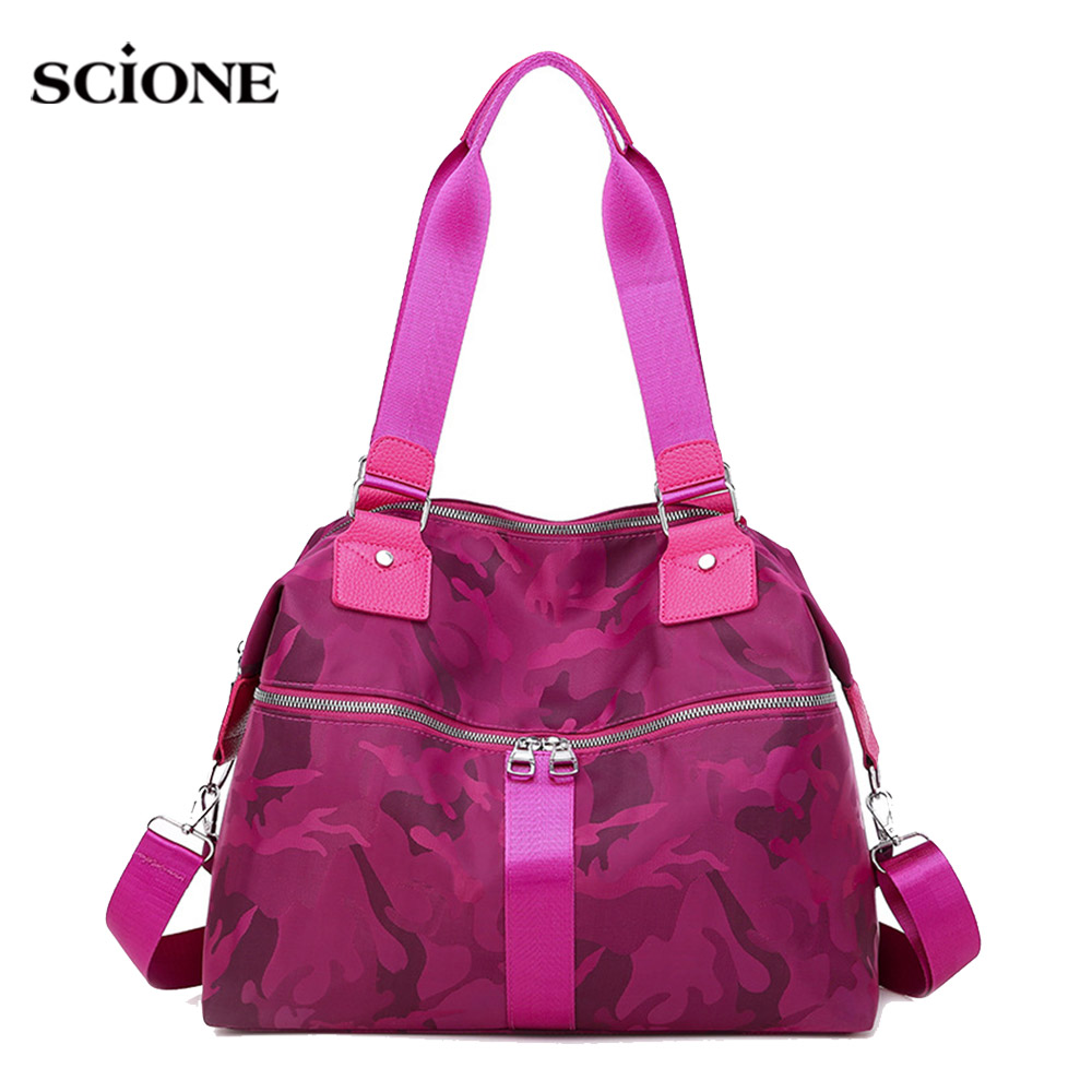 Floral Gym Handbag Women Traveling Fitness Bag Light Weight Luggage Shoulder Crossbody Sac De Sporttas Gymtas 2020 New XA989WA