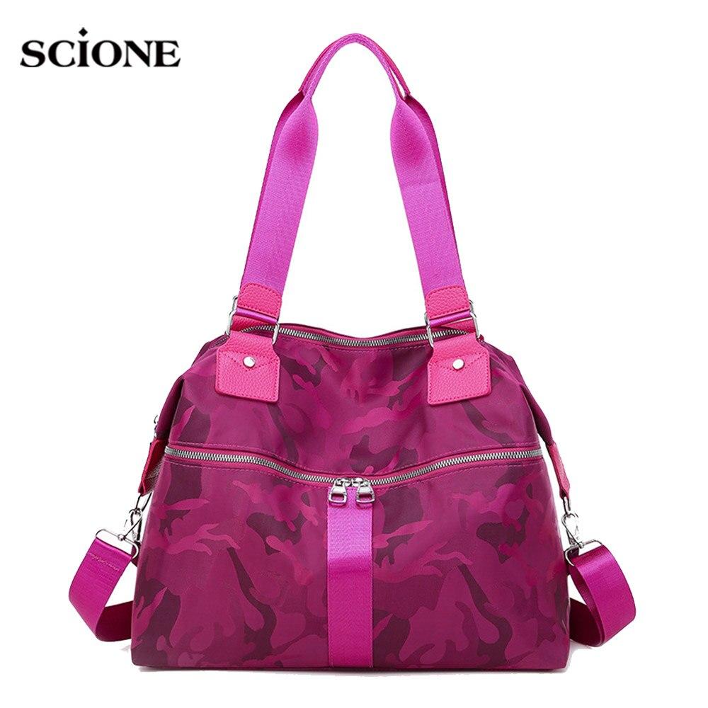 Floral Gym Handbag Women Traveling Fitness Bag Light Weight Luggage Shoulder Crossbody Sac De Sporttas Gymtas 2020 New XA989WA