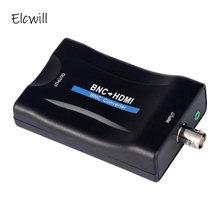 Bnc para hdmi conversor adaptador 1080 p/720 p compatível com pal/ntsc vídeo áudio conversor adaptador para câmera/cctv/game console/tv