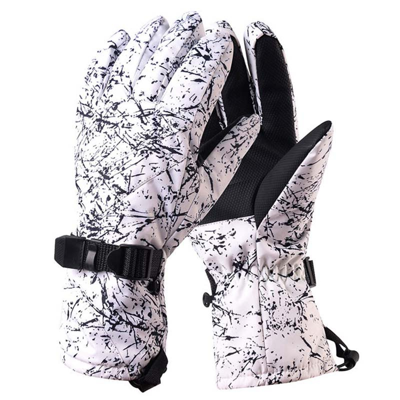 Super Sell-Arctic Queen Camouflage Snow Gloves Winter Outdoor Sports Mitten Waterproof Windproof Bicycle Mountains Snowboarding