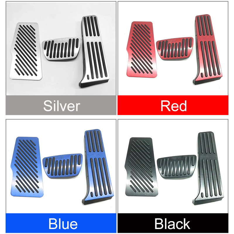 Image 4 - For TOYOTA RAV4 2019 2020 Car Styling Accelerator Gas Pedal Brake Pedals Non Drilling Cover Footrest Case Pads Trim Accessories-in Pedals from Automobiles & Motorcycles