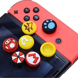 Image 3 - Cần Điều Khiển Bao Ngón Tay Cái Gậy Cầm Nắp Cho Nintendo Switch NS Lite Joy Con Bộ Điều Khiển Nintend Joy Con Chơi Game tự Dùng Ốp Lưng