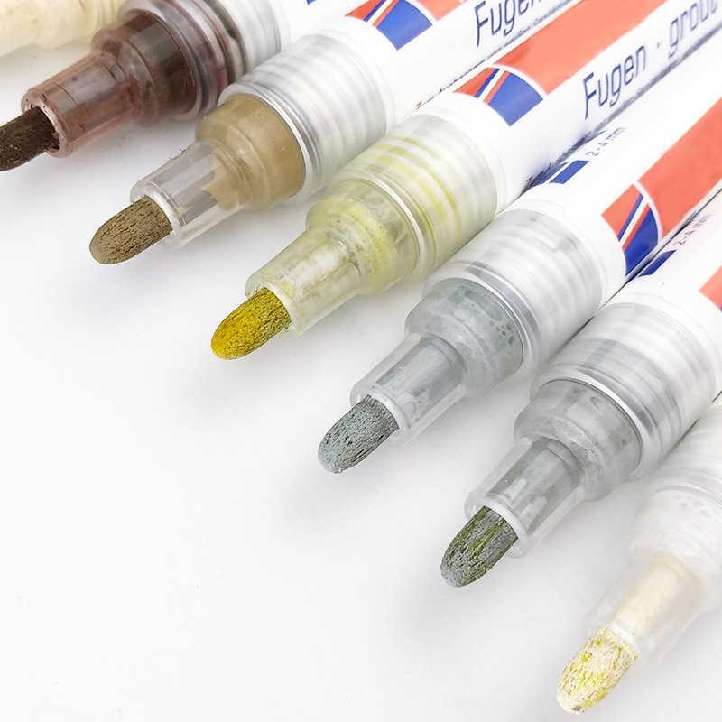 Azulejo de rejilla de revestimiento rotulador pared piso cerámica azulejos huecos pluma de reparación profesional L5 #4