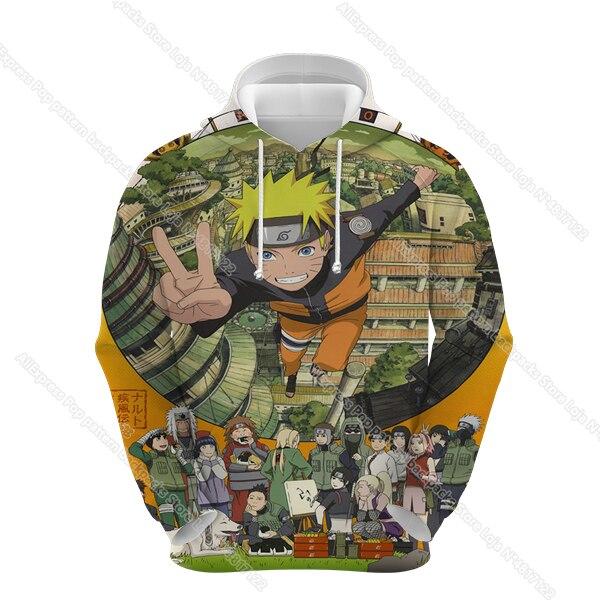 Naruto hoodies men women 3d sharingan sweatshirts boy jackets