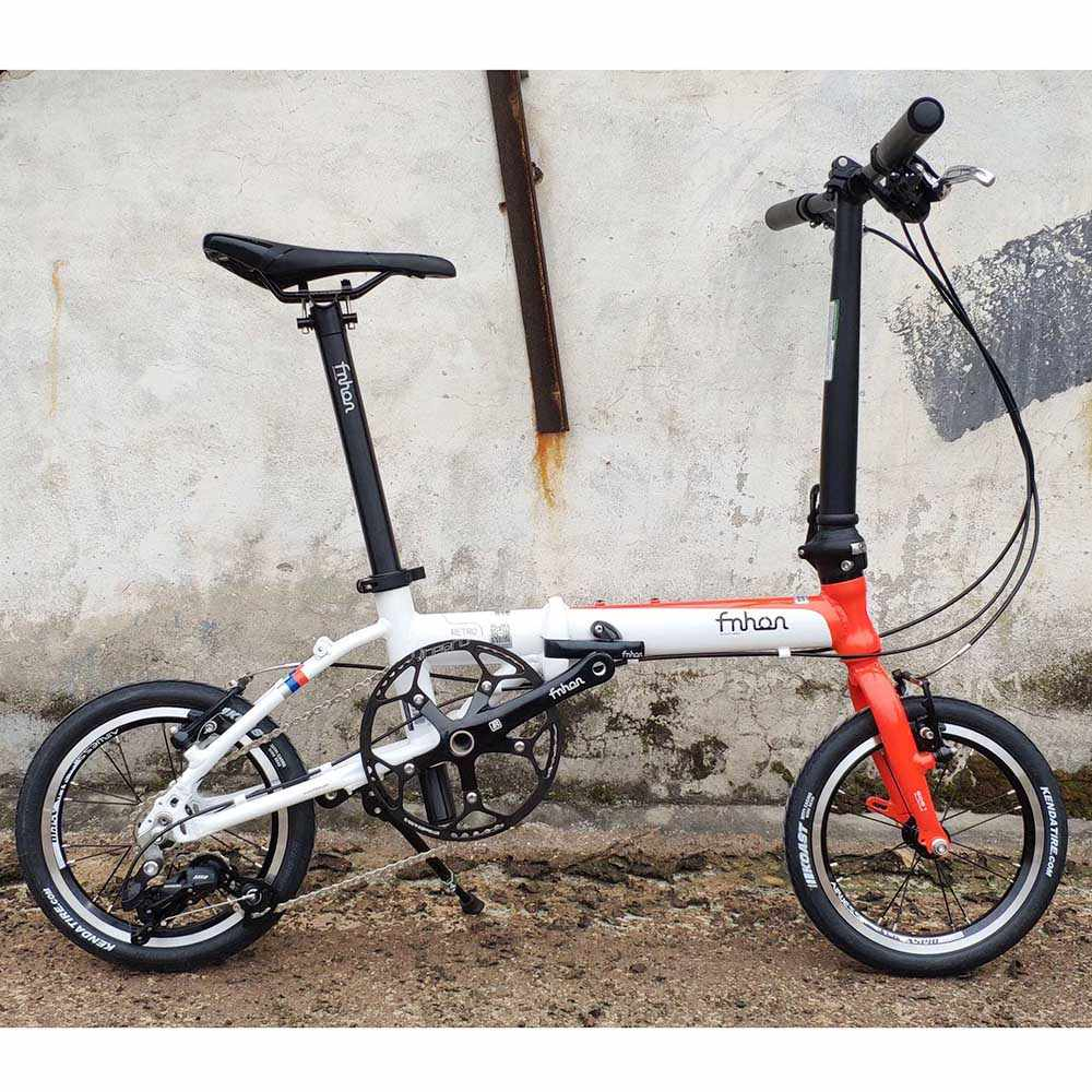 Fnhon Retro Aluminium Sepeda Lipat 14 16 Rem V 3 Kecepatan Minivelo Mini Velo Sepeda Urban Commuter Sepeda Lipat Sepeda Aliexpress