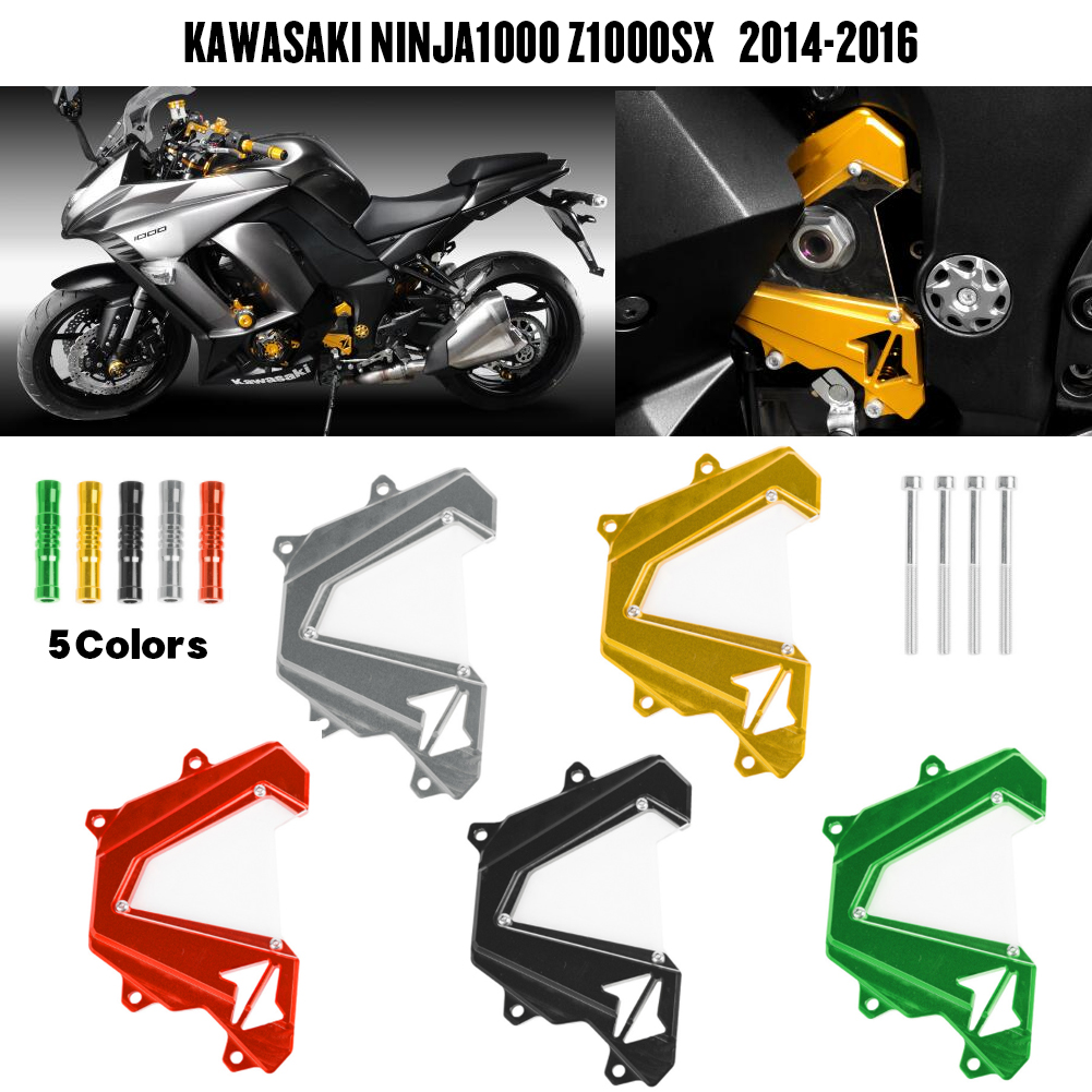 Engine Front Sproket Chain Guard Protection Cover For Kawasaki Ninja1000 <font><b>Z1000SX</b></font> 2014 2015 <font><b>2016</b></font> NINJA 1000 Z1000 SX Accessories image
