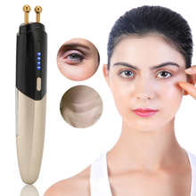 Anti-Wrinkle-Device Beauty-Care-Tool Eye-Massager Remove-Dark-Circles Heated Wand Negative-Ion