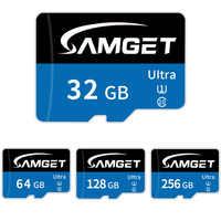 100% Original Micro SD tarjeta de memoria 8GB 16GB 32GB 64GB 128GB 256GB MicroSD Ultra C10 TF tarjeta cartao de memoria