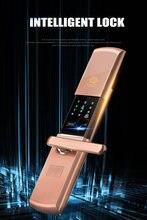 Электронный смарт замок безопасности блокировка отпечатков пальцев