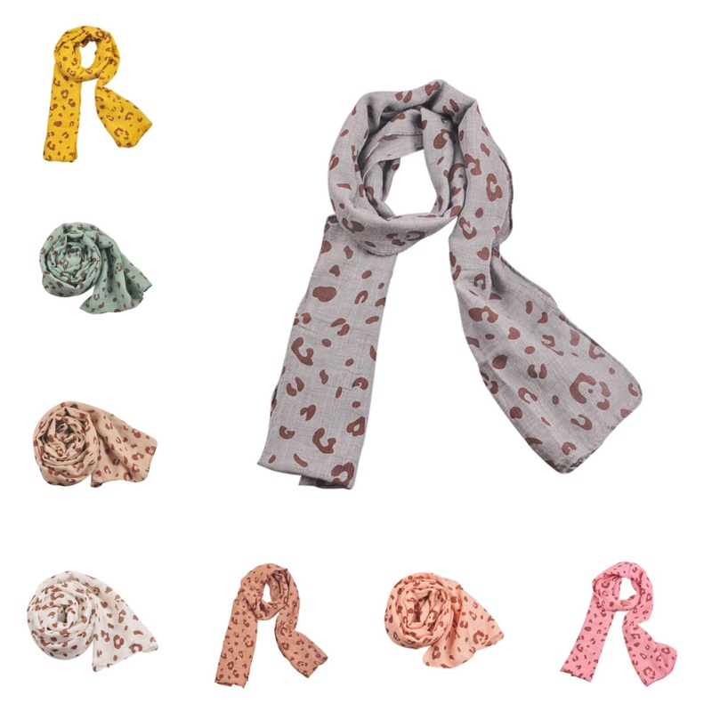 Spring Autumn Children's Cotton Scarf Baby Kids Scarf Winter Boys Girls Cartoon Scarves Child Collar  Neckerchief 2019