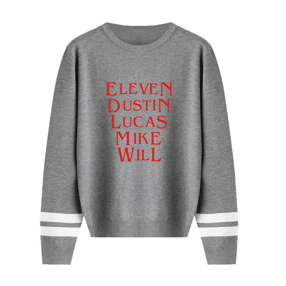 Hal Yang Aneh Sweater Pria/Wanita Aikooki Musim Gugur Musim Dingin Hot Fashion Lengan Panjang Hangat Lebih Tahan Dr Rajutan O-neck Sweater Atasan Kasual