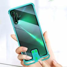 Чехол OMEVE для Huawei Nova 5T, чехол Nova 5, металлический бампер без бороды, прозрачный чехол из закаленного стекла для Huawei Nova5T 5, чехлы для телефонов