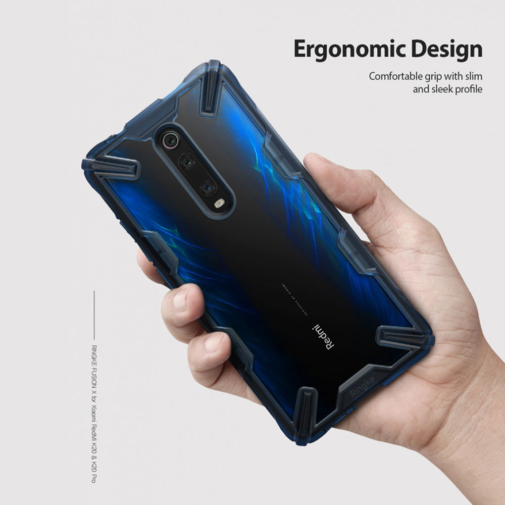 Image 3 - Ringke Fusion X for Xiaomi Mi 9T Case (Mi 9T Pro) Transparent Hard PC Back Soft TPU Frame for Redmi K20  (K20 Pro) Cover-in Fitted Cases from Cellphones & Telecommunications