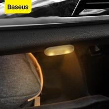 Baseus Car Light LED lampada decorativa 2PCS Magnetic Styling Touch Night Light lampada da soffitto per accessori per interni auto