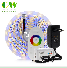 H9170bd76320e45ed8828d6fb6e94e8e57 RGB LED Strip Light 5050 2835 DC12V Neon Ribbon Waterproof Flexible LED Diode Tape 60LEDs/m 5M 12V LED Strip for Home Decoration
