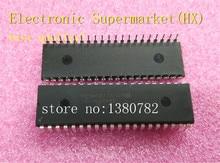 Frete grátis 50 unidades/lotes PIC16F877A I/p pic16f877a dip 40 novo original ic em estoque!