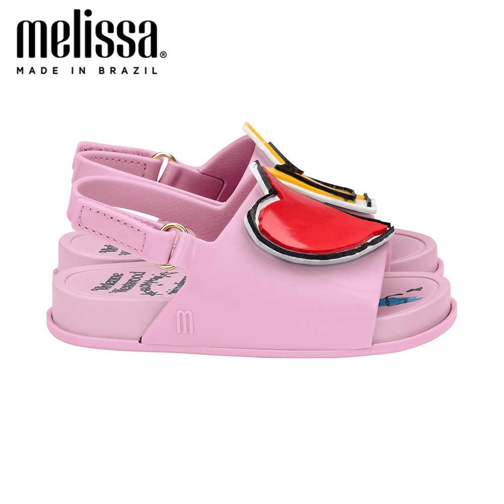Mini Melissa Strand Glijbaan Sandaal Meisje Jongen Jelly Schoenen Sandalen 2020 Baby Schoenen Melissa Sandalen Sandalen Voor Meisjes Kids Jelly schoenen