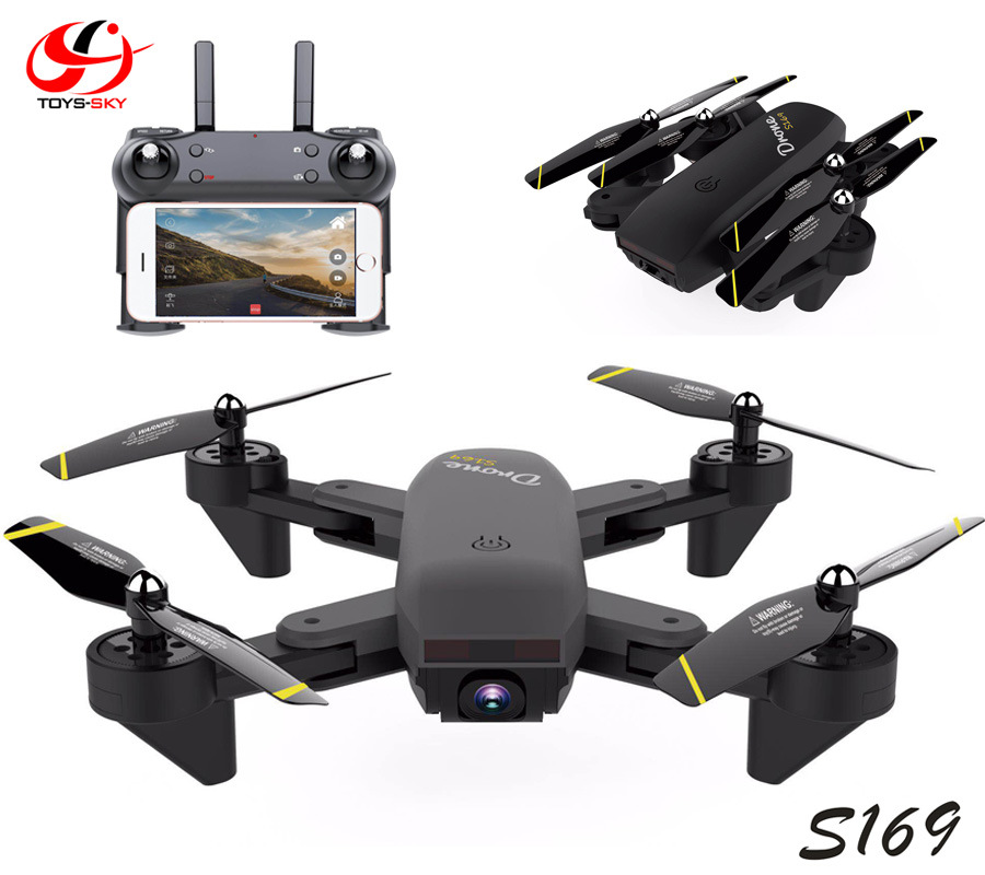 Create Sega S169 Unmanned Aerial Vehicle Aerial Remote-control Aircraft Dual Camera Optical Flow Positioning Intelligent Followi