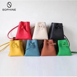 2019 повседневное ведро женская сумка фирменный стиль сумки на плечо из натуральной кожи сумки высокого качества Дизайнерские