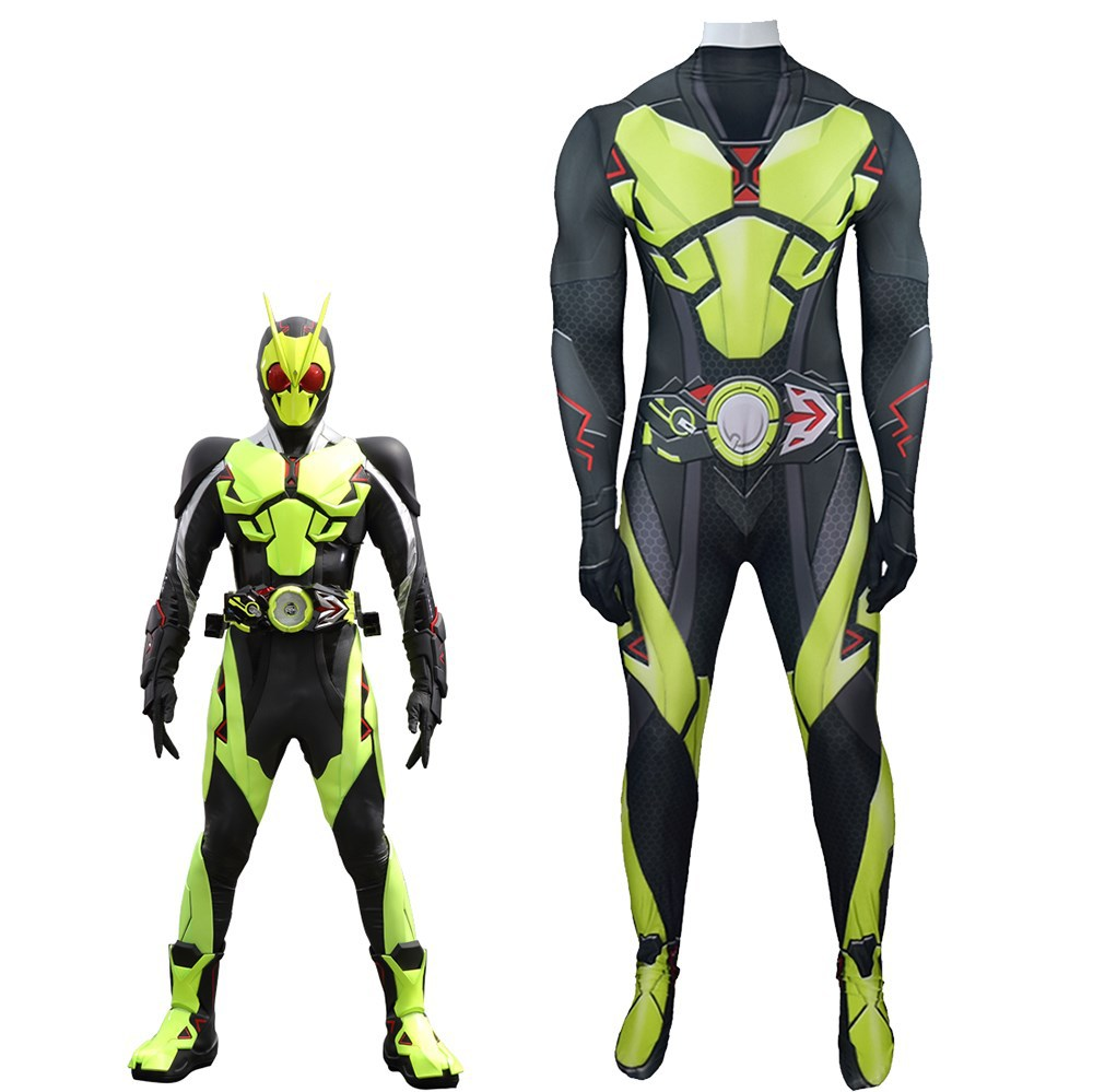 TV Series Kamen Rider Zero-One Hiden Aruto Cosplay Costume Rising Hopper Tight Jumpsuit Adult Child Masquerade Clothing