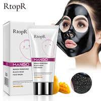 Mangue points noirs dissolvant acné traitement nez huile-contrôle boue pores bande masque blanchissant crème Peel off masque nez Peel soins de la peau