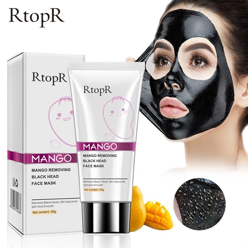 Mango Mitesser Entferner Akne Behandlung Nase Öl-steuer Schlamm Poren Streifen Maske Bleaching Creme Peel off Maske Nase Schälen hautpflege