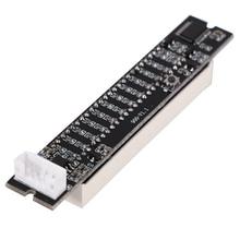 Amplifier-Board 12-Level-Indicator Stereo Light Vu-Meter Adjustable Mini Dual